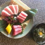 Assorted Bluefin Tuna sashimi w/nori rice donburi(SOLD OUT)