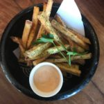 """Satsumaimo\"" Japanese sweet potato fries"